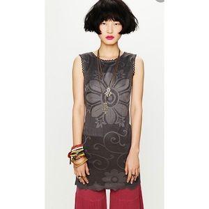 Free People New Romantics Nearly Famous Crochet Shift Dress